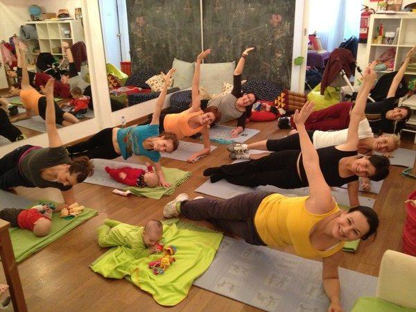 Тренировки для похудения после родов в домашних условиях 43