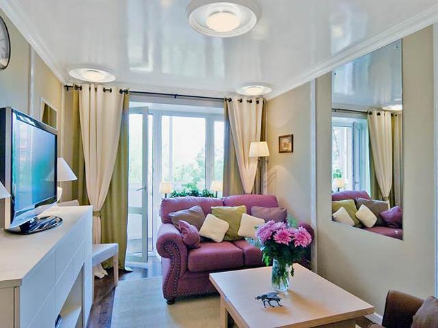 Дизайн гостиной в хрущевку